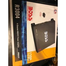 Boss Potencia Amplificador 4 Canales 1200 W R3004