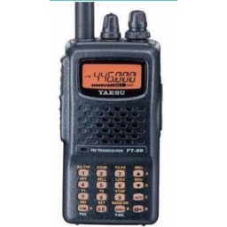 Handy Yaesu Ft-60r Vhf Uhf Made In Japan + Na771 Nagoya