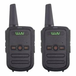 2 Handy Walkie Talkie Wnl Modelo Kdc51+2 Manos Libres