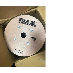 Cable Coaxial Rg213u Doble Escudo Marca Tram ( Usa )