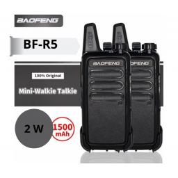 2 Handy Walkie Talkie Baofeng Modelo Bf-r5