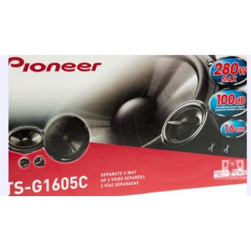Juego Componentes Pioneer Tsg1605c 280w, 16cm
