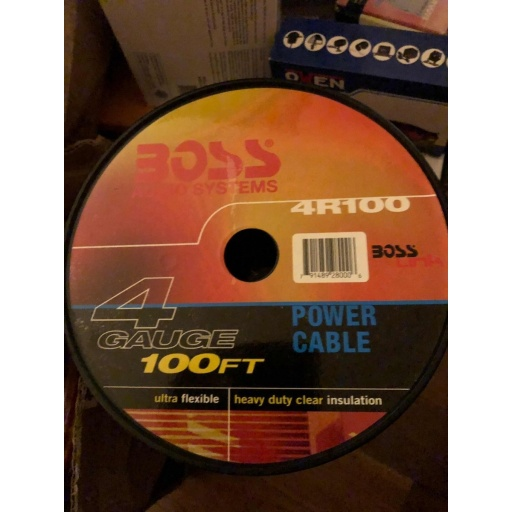 Rollo Cable Boss Ultra Flexible 8r100 25 Metros