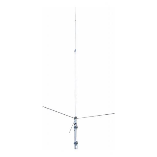 Antena De Base Vhf Uhf Marca Tram (usa) Fibra De Vidrio