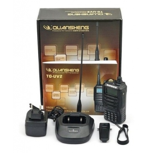 Handy Walkie Talkie Quansheng Tguv2 Nivel Militar China