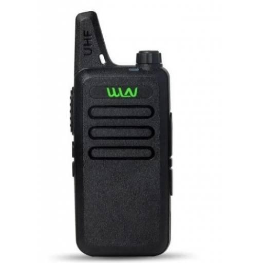 2 Handy Walkie Talkie Wln  Modelo Kdc1 BLACK+2 Manos Libres