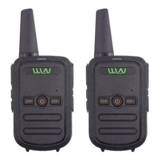 2 Handy Walkie Talkie Wln Modelo Kdc51+2 Manos Libres