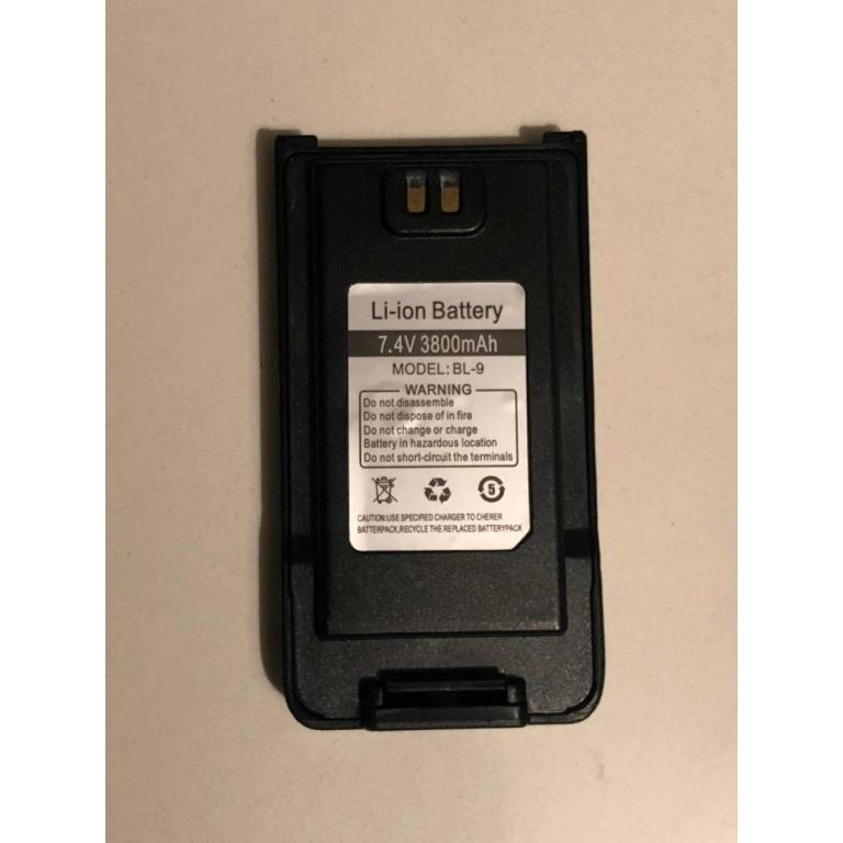 Batería Baofeng Ion Litio Bft57 Uv9r 3800 Mah