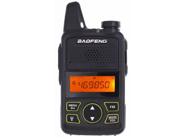 Mini Walkie Talkie Handy Uhf Baofeng   Auric. Manos Libres