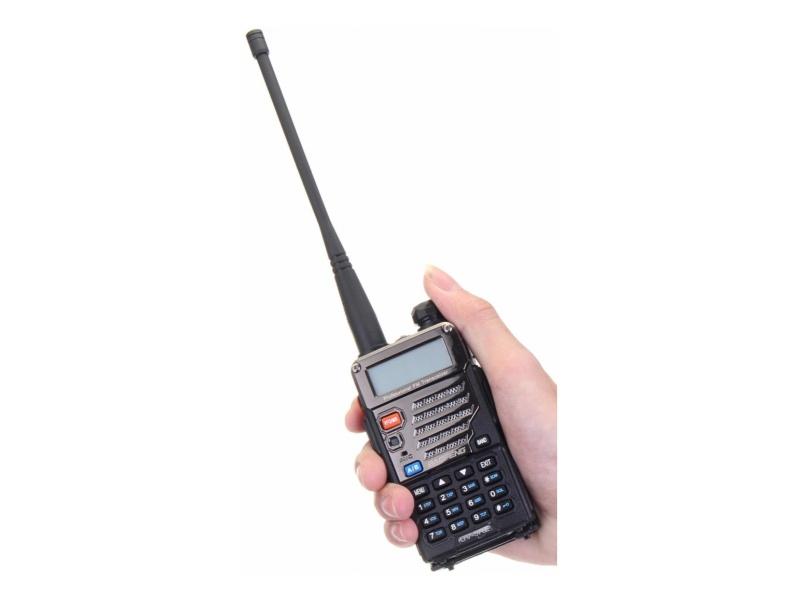 Handy Walkie Talkie Baofeng Uv5re Tri Banda 144 440 220 Mhz