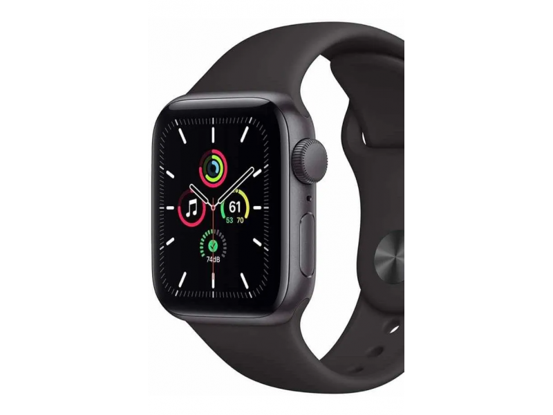 Apple Watch Se 44mm Gps Gris Espacial Cuerpo De Aluminio